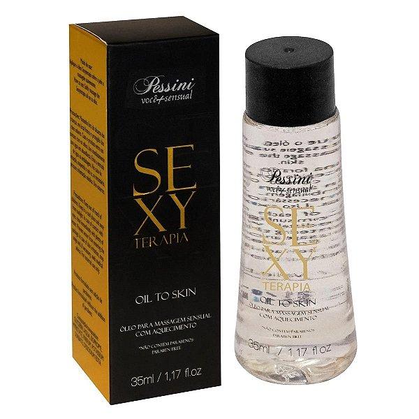 Óleo para Massagem Sensual com Aquecimento Sexy Terapia - Erótika Store