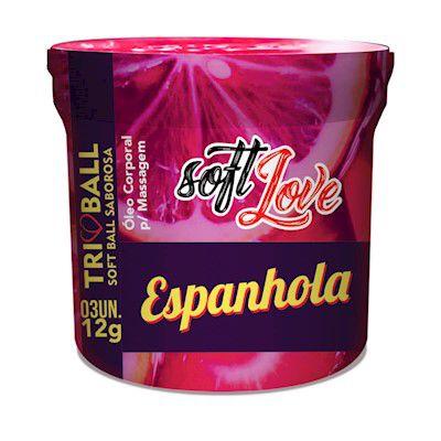Triball Espanhola Saborosa Soft Love - Erótika Store