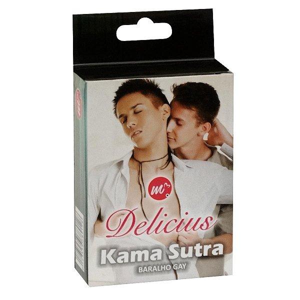 Baralho Kama Sutra Gay Delicius - Erótika Store