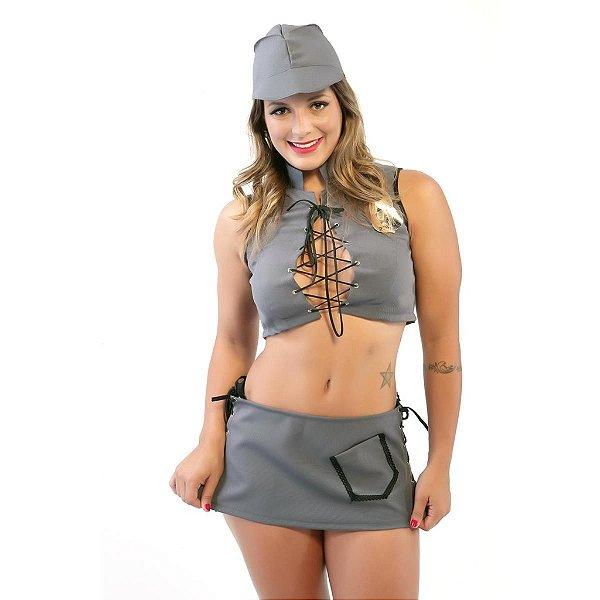 Kit Policial Saia Amareto-Erotika Store