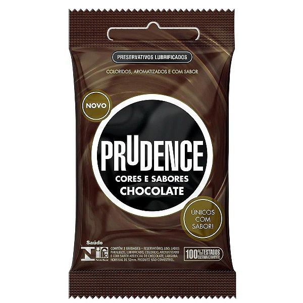 Preservativos Cores e Sabores Chocolate Prudence - Erótika Store