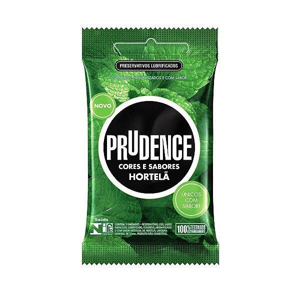 Preservativos Cores e Sabores Hortelã Prudence-Erotika Store