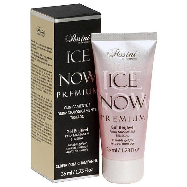 Ice Now Beijável Premium Cereja com Champanhe Pessini - Erótika Store