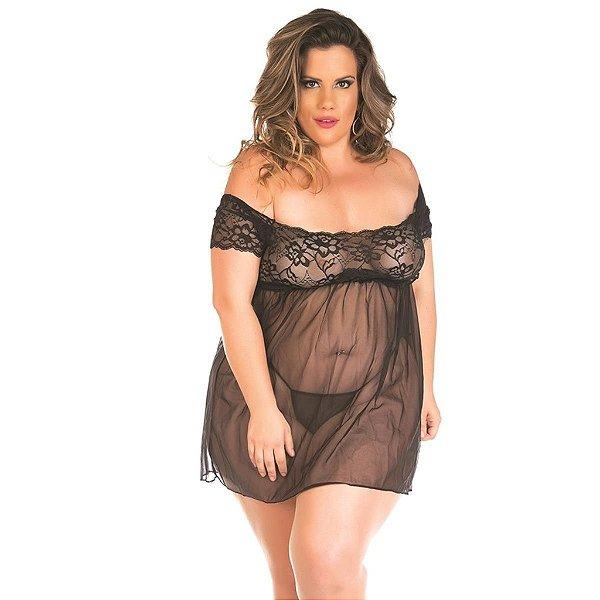 Camisola Gabriela Plus Size Pimenta Sexy - Erótika Store