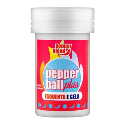 Pepper Ball Plus Esquenta e Esfria Pepper Blend - Erótika Store