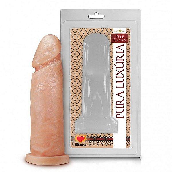 Prótese Realística Pura Luxúria Pele 15,3x4,5 Sexy Fantasy-Erotika Store
