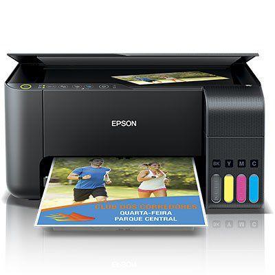 Impressora Multifuncional Tanque de Tinta EcoTank L3150, Colorida, Wi-fi, Conexão USB, Bivolt - Epson