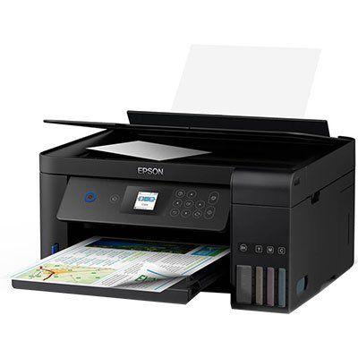 Impressora Multifuncional tanque de tinta Ecotank L4160, Colorida, Impressão Duplex, Wi-fi, Conexão USB, Bivolt - Epson