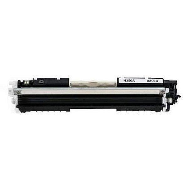 Toner compatível HP CF 350 A CF350A (130A) preto.