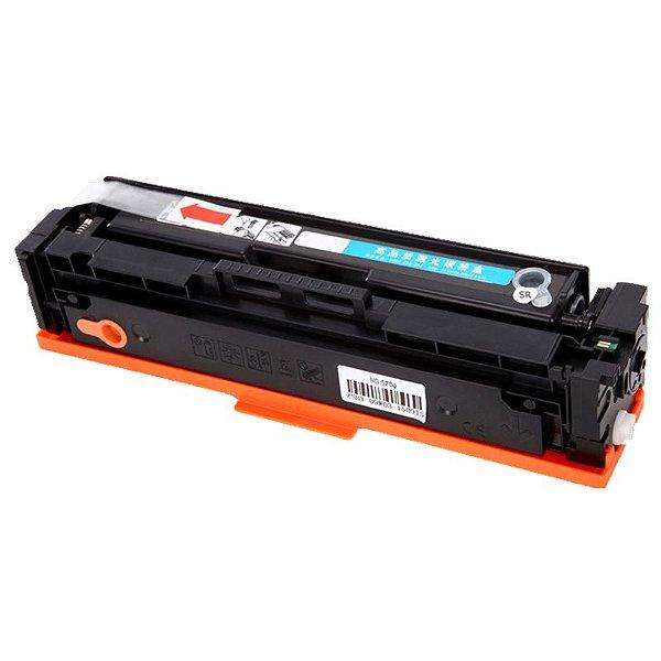 Cartucho de toner CF401X (201X)  LaserJet compatível ciano de alto rendimento HP 201X, rendimento 2300 cópias.
