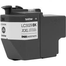 LC 3029 BK LC3029 LC3029BK LC 3029 Preto Cartucho preto de extra alto rendimento 3000 páginas (60ml), para impressoras MFC-J5830DW, J5930DW, J6535DW e J6935DW.