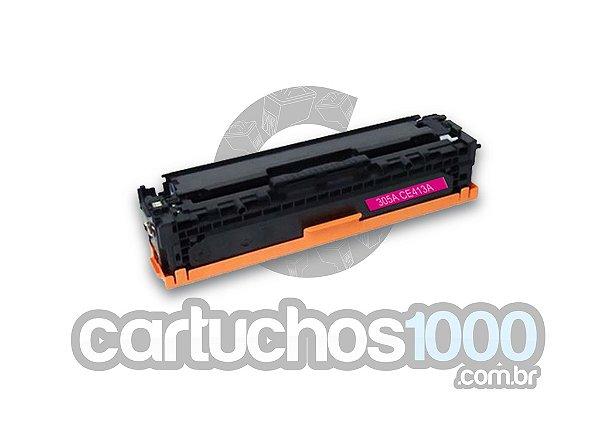Toner HP CE 413A 413 305A / M351 M451 M475 M375 M451DW M451DN M451NW / Magenta / Compatível