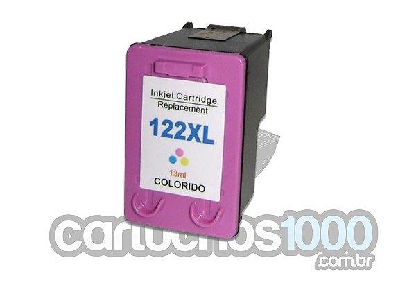 Cartucho de Tinta HP 122XL 122  XL  CH564HB 564 / 2000 1000 3050 2050 / Compatível/ Color