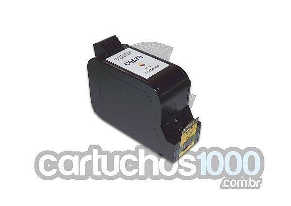 Cartucho de Tinta  HP 78 C6578DL 6578/ Deskjet 920C P1000 PSC720 / Compatível/ Colorido
