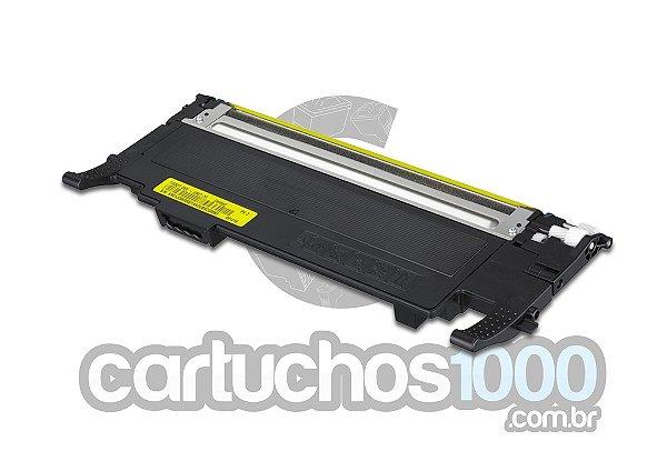 Toner Samsung CLT-Y407S 407S 407/ CLP320N CLP325W CLX3185N CLX 3185 CLP 320 CLP 325/ Compatível/ Amarelo