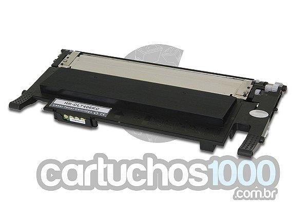 Toner Samsung CLT-K406S  406/ CLP365W CLP 365 CLP 360 CLX 3305 C 460W C460FW C410W / Compatível/ Preto