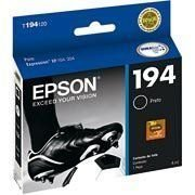 CARTUCHO DE TINTA EPSON T194120 T194 PRETO   EXPRESSION XP204 XP 204   ORIGINAL 4ML