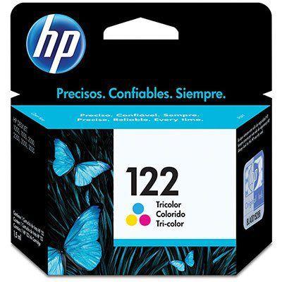 CARTUCHO DE TINTA HP 122 CH562HB COLORIDO | ORIGINAL 2ML
