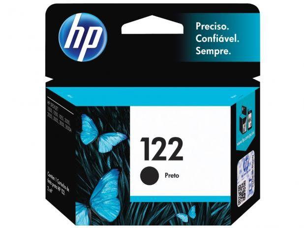CARTUCHO DE TINTA HP 122 CH561HB PRETO | ORIGINAL 2ML