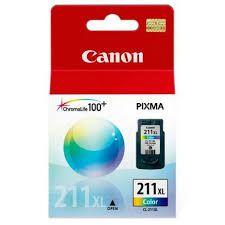 CARTUCHO DE TINTA CANON CL211XL TRICOLOR P/MP230/MP250/MP280/IP27