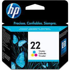 CARTUCHO DE TINTA HP C9352AB (22) TRICOLOR