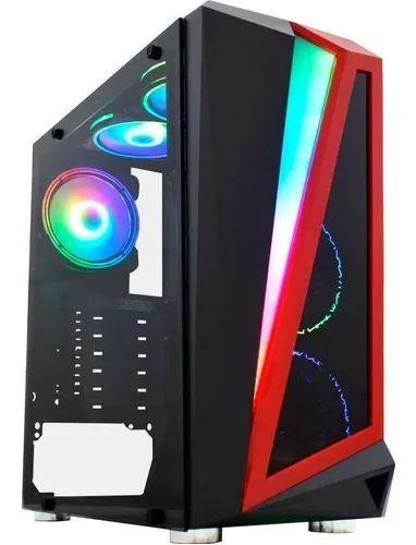 Gabinete Gamer K-mex Hawk Iii Cg-03qi Atx Micro Matx Vidro