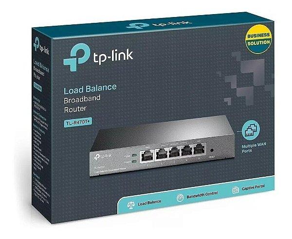 Roteador Tplink P/load Balance 4portas Tl-r470t+