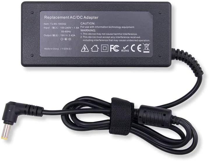 Fonte Para Notebook Acer Aspire E5-573g-56rg 19v 3.42a 65w