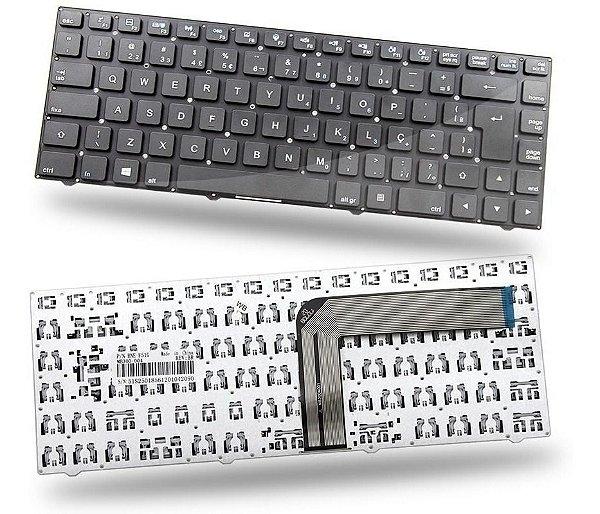 Teclado Notebook _ Cce Ultra Thin N325 Mp-11j78pa-f51jw Br Ç