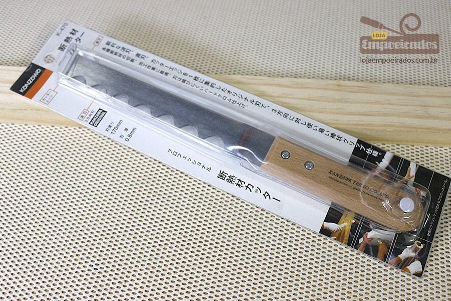 Faca Japonesa Kanzawa para Corte em Espuma, Borracha, Plástico Bolha e Isopor - K-470