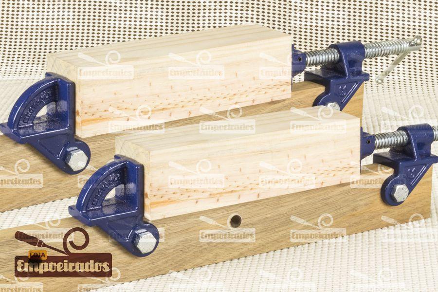 Grampo Sargento Pipe Clamp para Caibros de Madeira - 2 peças
