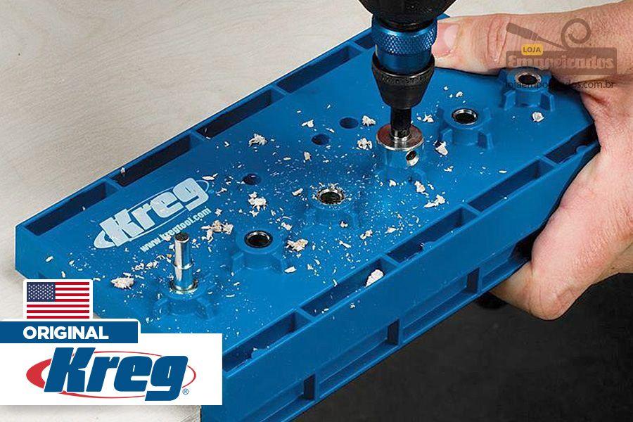 Gabarito para Furação Sequencial Kreg - Shelf Pin Jig
