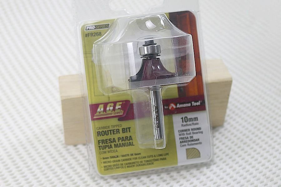 Fresa para Arredondar com Rolamento - R-10mm - FR268 - Amana Tool