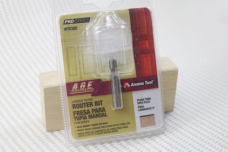 Fresa Piloto para Laminados 0°  AGE™ Pro-Series Amana Tool - [FR300]