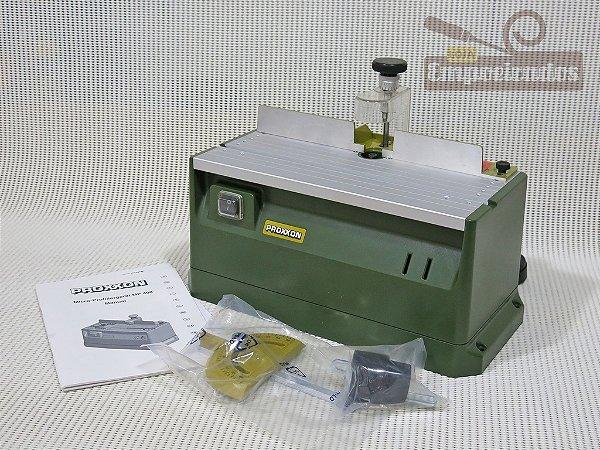 Micro Tupia de Bancada MP400 Proxxon - 220V