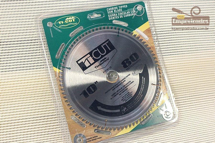 Disco de Serra Circular Widea para Alumínio 250mm - 80 dentes - Amana Tool