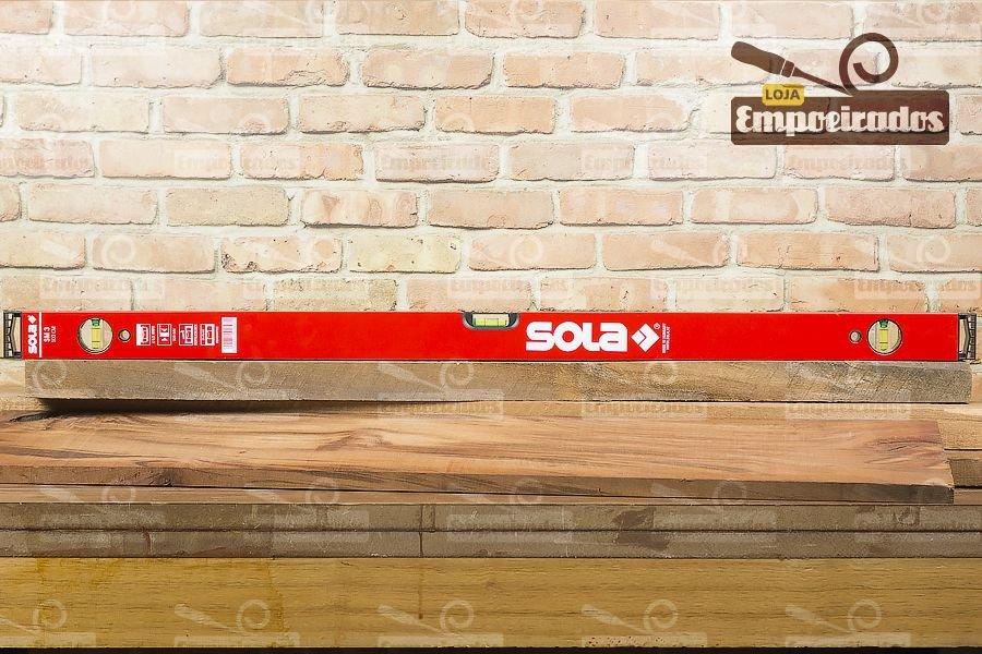 Nível de Alumínio SM3 100cm - Sola