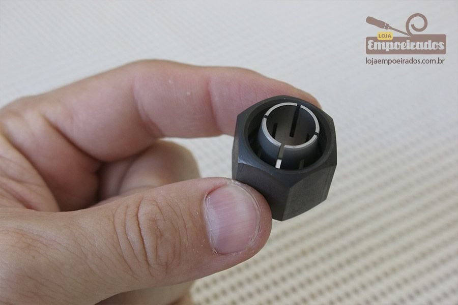 """Pinça para Tupia 1/2"""" - Bosch [508 ou 601]"""