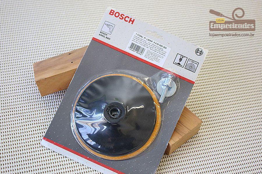 Conjunto para Lixar com 8 peças para Furadeira - Bosch