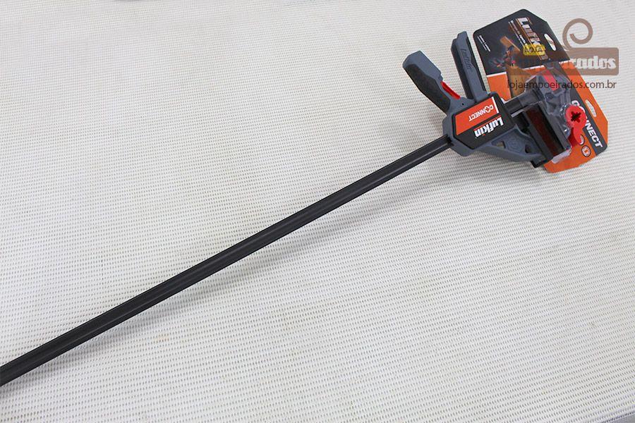 """Grampo de Aperto Rápido para Marceneiro - Connect Lufkin - 36""""/90cm"""
