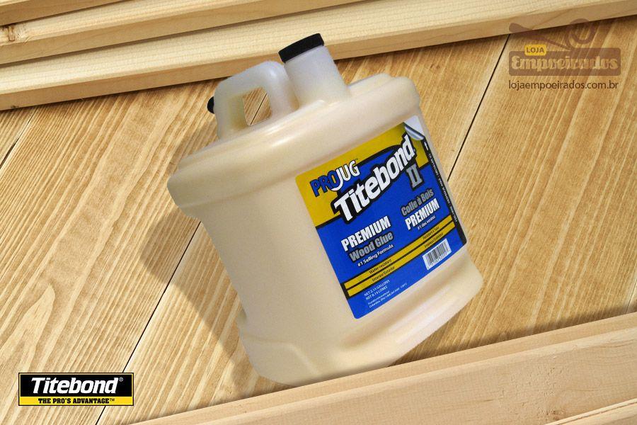 Cola para Madeira Titebond Premium Wood Glue (8,14 litros)