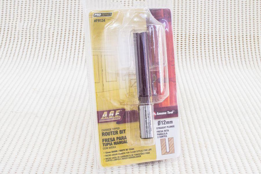 Fresa para Reta/Paralela 12 x 57mm Amana Tool - [FR134]