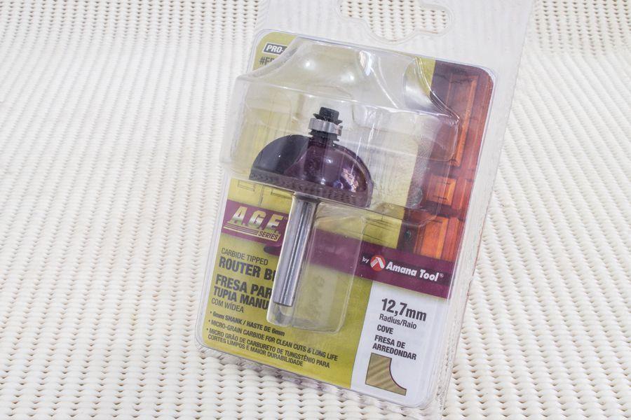 Fresa Côncava com Rolamento Inferior 35,1 x 15,8mm AGE™ Pro-Series Amana Tool - [FR214]