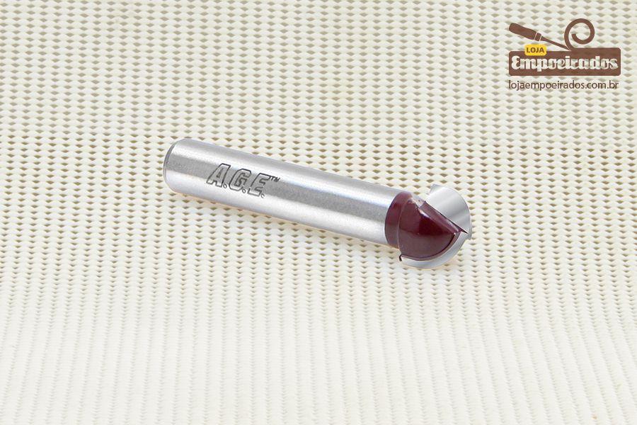 Fresa para Meia Cana - Raio 6,4mm Amana Tool - [FR244]