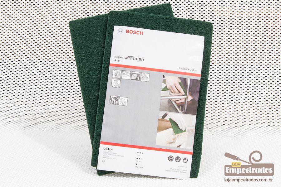 Manta Abrasiva Bosch Super Fina - Verde - 2 unidades