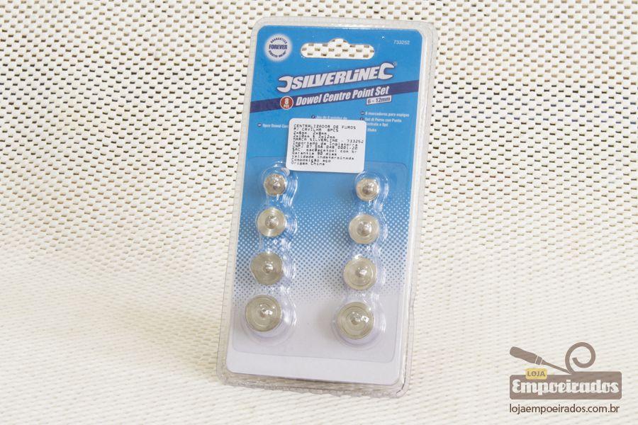 Kit Marcadores de Furos p/ Cavilhas 8 peças - Silverline