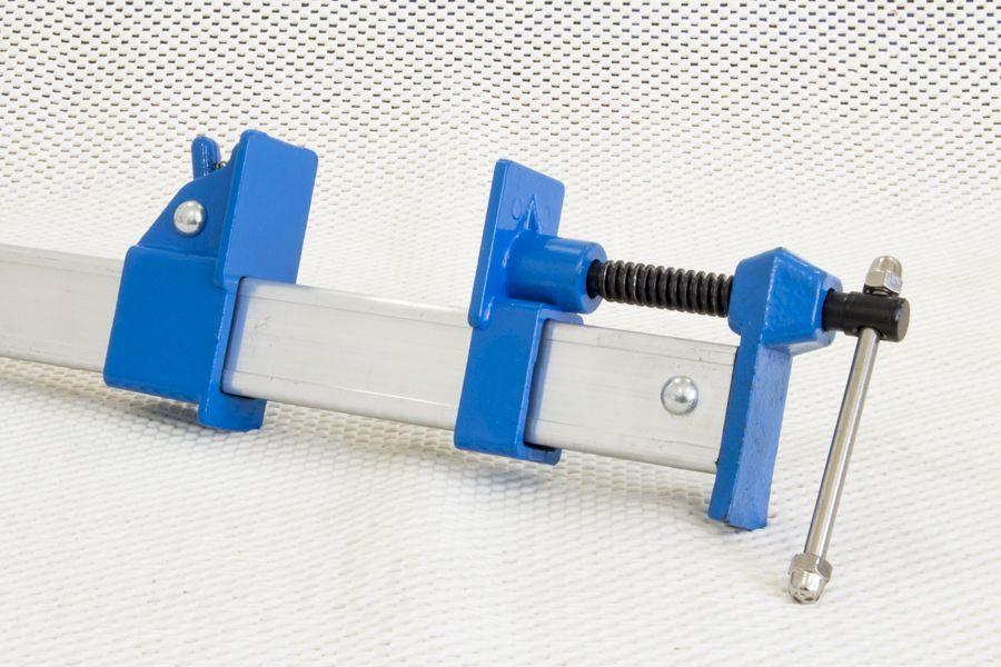Grampo / Sargento barra de Alumínio 900mm - Silverline