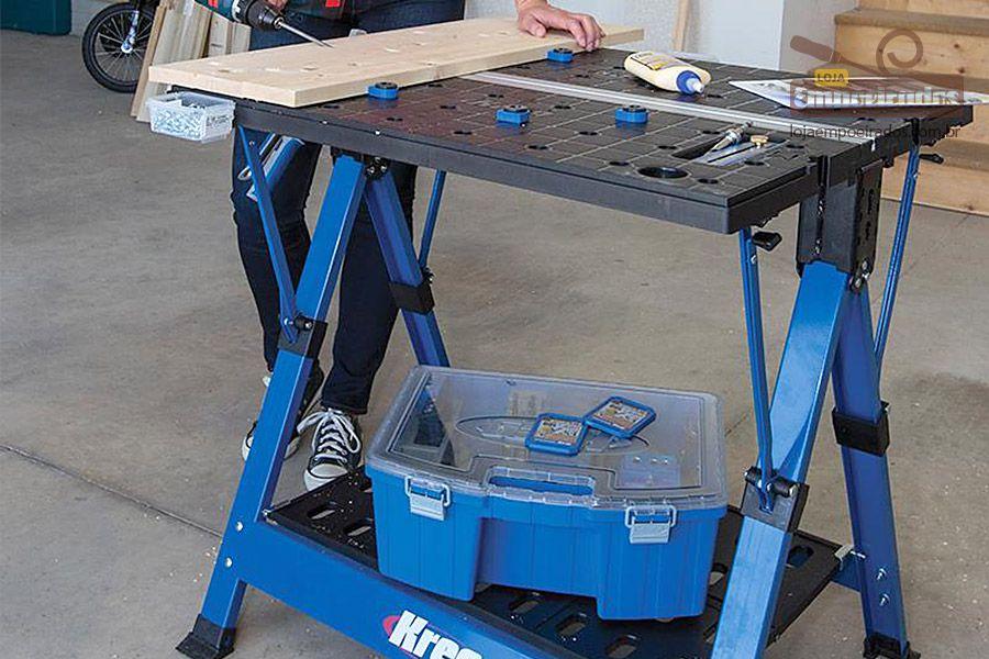 Bancada de Trabalho Mobile Project Center KWS1000 - Kreg
