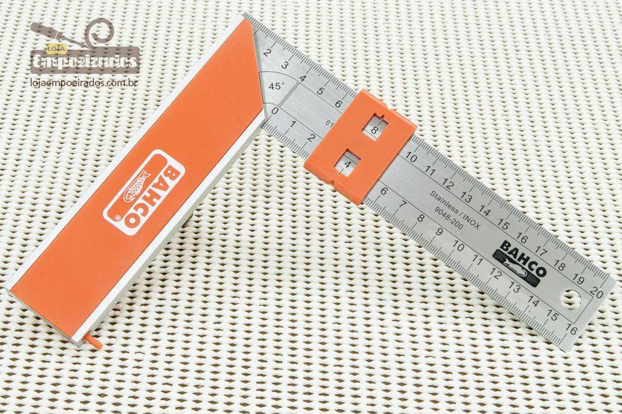 Esquadro Bahco para carpinteiro - 200mm