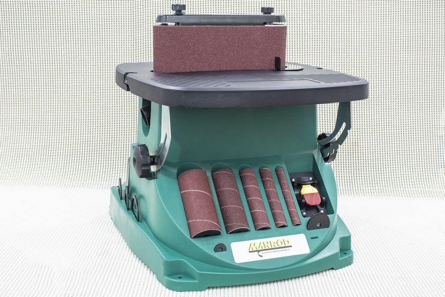 Lixadeira de Bancada com Eixo e Cinta Oscilante 1/2HP 220V - MANROD MR-41417